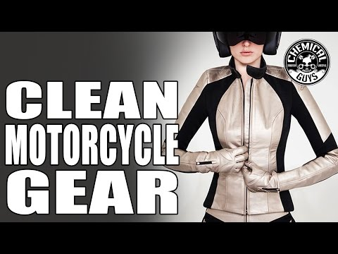 How to Clean Leather Motorcycle Race Suits - Chemical Guys Dainese