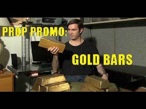 Prop Promo: Gold Bars