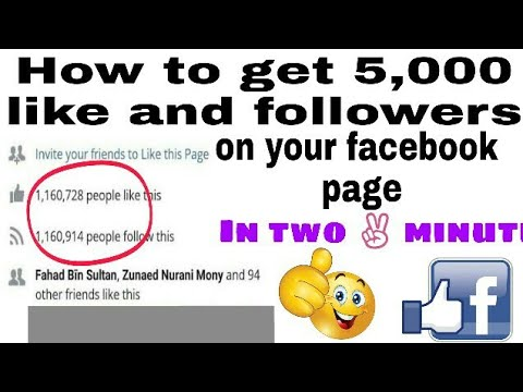 4,000 facebook page likes for your facebook fan page in five minutes[2017 working method]