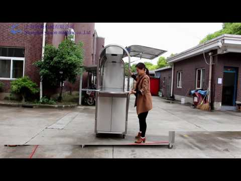 coffee cart, food cart, food kiosk,
