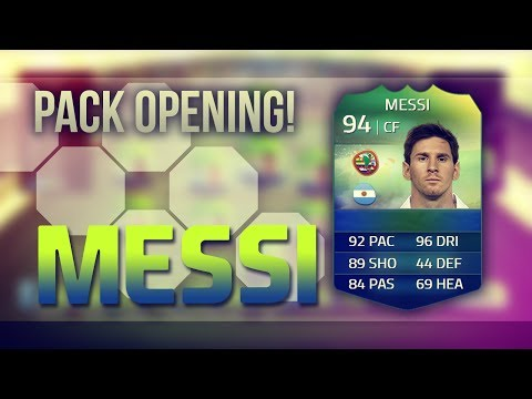 FIFA 14 - World Cup Ultimate Team! MESSI Packed!