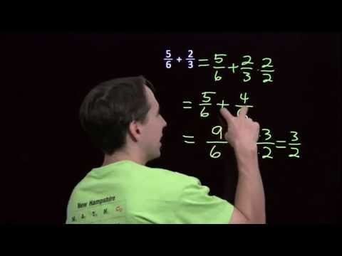 Art of Problem Solving: Adding Fractions with Different Denominators
