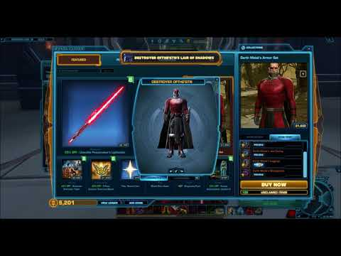 SWTOR: Amazing Item for only 10 Cartel Coins!! (Patch 5.5)