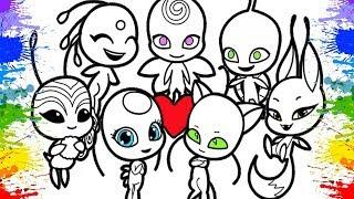 Miraculous Ladybug 2 Cartoons For Children Desenhos Para Colorir