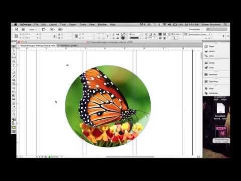 How To Convert An Image Into Different Shapes In Indesign Using Pathfinder Options