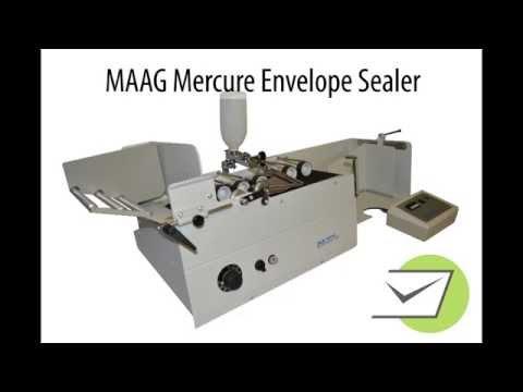 MAAG Mercure Envelope Sealer