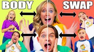 Craziest Body Swap! Jack and Jazzy Swap Bodies With Mom and Dad!