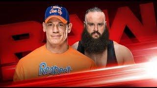 JOHN CENA VS BRAUN STROWMAN Asuka WWE Main Roster Call-Up wwe latest news