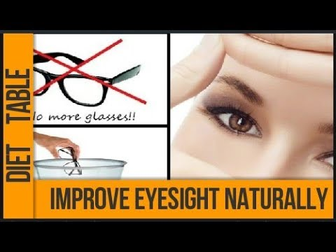 Improve your eyesight naturally | One ingredient to improve eyesight