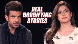 Zareen Khan and Karan Kundra Tell You Their Most Horrifying Incidents