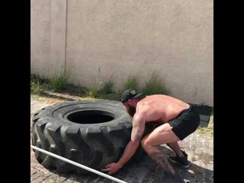 Slo-mo Tire Flips