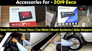 Accessories for 2019 Eeco with Prices | Ujjwal Saxena