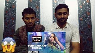 Pakistani Reaction on Sunn Raha Hai Rozana | Shreya Ghoshal | T-Series Mixtape | PART 1