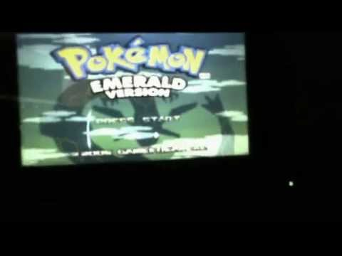 Pokemon emerald on PSP go