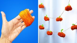 9 Cute Pumpkin Crafts
