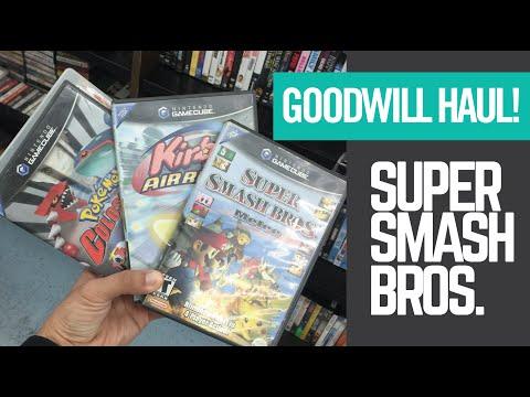 Quick Goodwill Haul - GameCube Games - Starter Jersey + MORE!