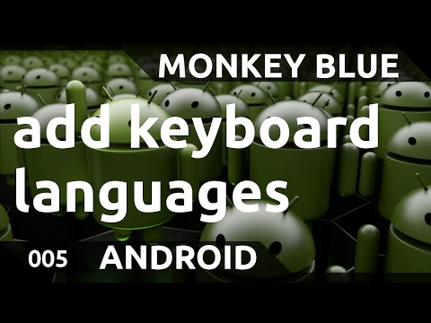 Android: how to add languages to the keyboard