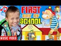 CHASE'S FIRST DAY OF SCHOOL 🎵 Raptain Hook (FV Family Vlog Song)