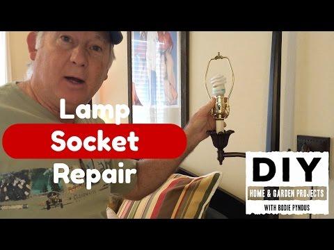 Lamp Socket Repair