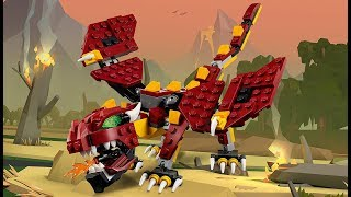 Mythical Creatures - LEGO Creator 3in1 - Product Animation