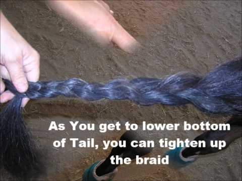 How to Create a Horse Tail Bag