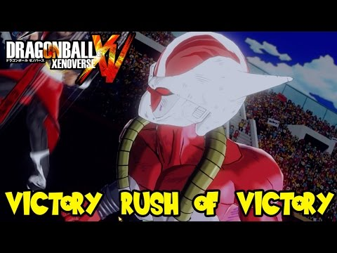 Dragon Ball Xenoverse Online Battles: The Victory Rush of Victory! New Strike Based Stats