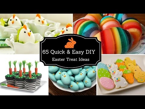 💐🐔65 Quick & Easy DIY Easter Treat Ideas 2017💐🐔