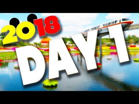 DISNEY WORLD & ORLANDO VLOGS 2018 - DAY 1