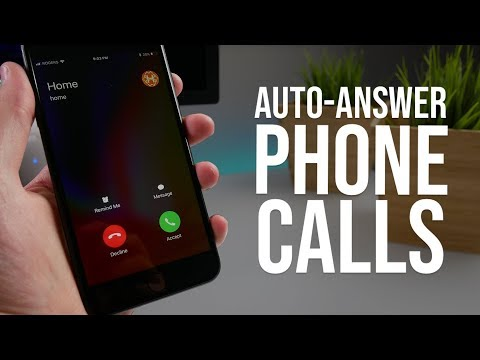 iPhone Auto-Answer Call Feature