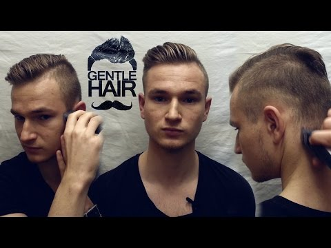 Trim, fade, edge your sides and back by yourself | How to cut your own hair for men | GentleHair