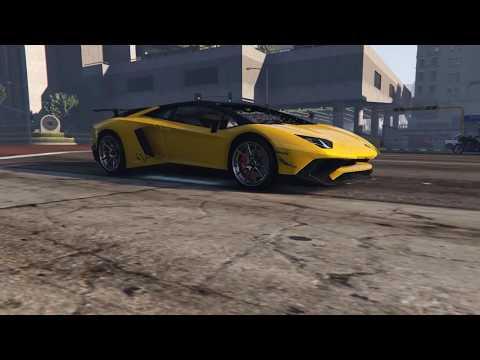 GTA V Lamborghini Aventador 750-4 SUPERVELOCE ROADSTER Watchout