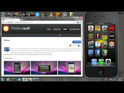 How to project your ipod or iphone screen onto your computer