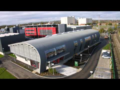 Aerospace Technology Centre - Nottingham University - Animation