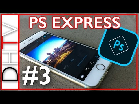 Best Free Photo Editing Apps iPhone PS Express (Photoshop) #3