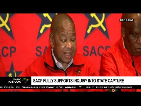SACP fully supports state capture inquiry