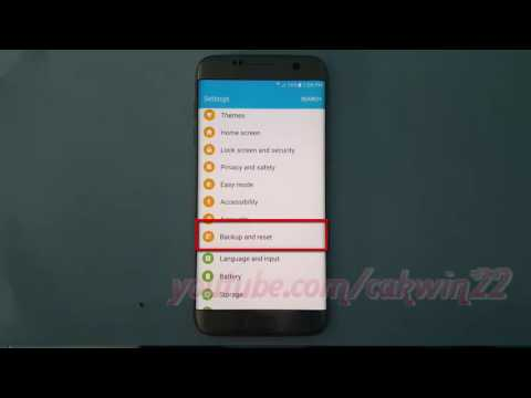 Samsung Galaxy S7 Edge : How to Back up or Restore Phone Log Data (Android Marshmallow)