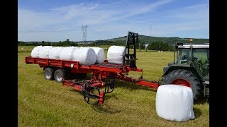 Anderson dlc farm sim fs19 How to pick up bales using