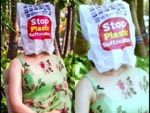प्लास्टिक पॉलिथीन से कंगना रनौत ने छिपाया अपना चेहरा  DU News