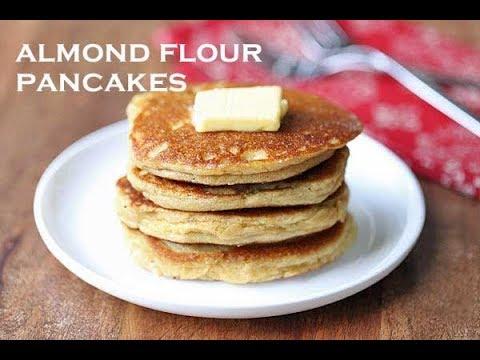 Almond Flour Pancakes, Nice and Fluffy