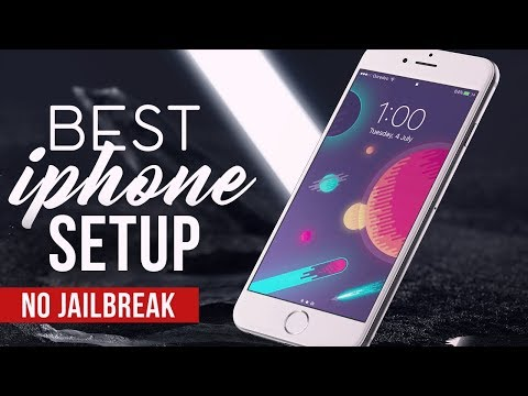 How to Customize iPhone (No Jailbreak)- The Best iPhone Setup 2! - 2017 - OPERATIONiDROID inspired