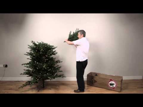 Noma 1-2-Tree Pre-Lit Artificial Christmas Tree