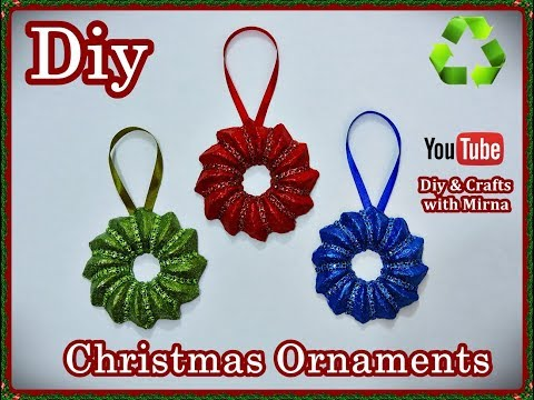 Diy. How to make Christmas ornament. Diy & Crafts with Mirna