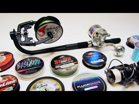 How to Spool ANY Fishing Reel Using a Portable Line Spooler Winder Tensioner | Ecooda Piscifun