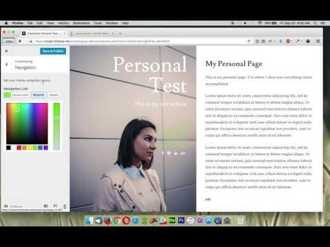 Personal - Colors Customization