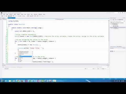 C# Programming: Creating an Array of Objects and Overriding Inherited Methods