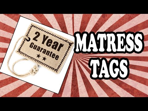 Why Is It Illegal to Remove Your Mattress and Pillow Tags?