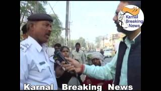 Download Karnal Police Challan Or Home Guard Rishwat Live Video Watch & Share