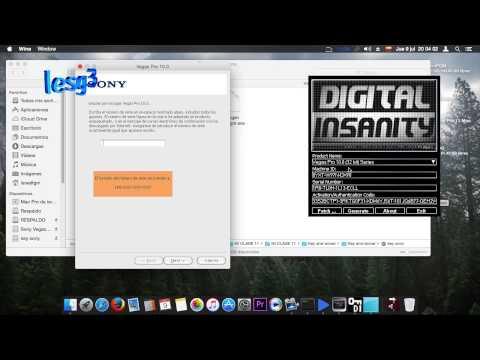 Como instalar Sony Vegas pro 11 en MAC 2part