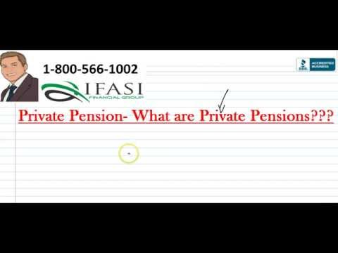 Private Pensions ***Easily Explained** Private Pension