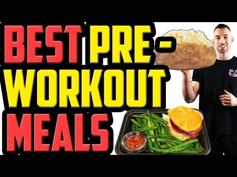10 Best PRE WORKOUT Meals | What to Eat Before a Workout | What to eat Before Gym | pre workout food